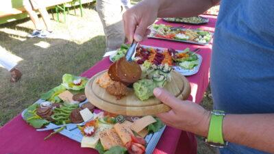Vegane Brettljause Essen